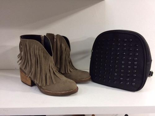 botas texanas con flecos otoño invierno 2017 fabricantes