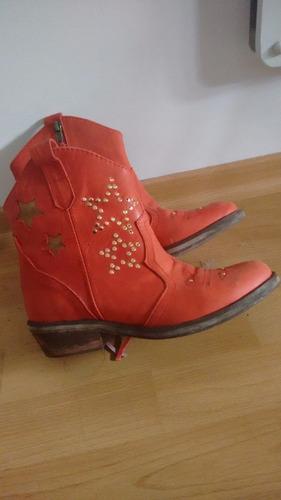 botas texanas en nobuck super rockeras!!!!