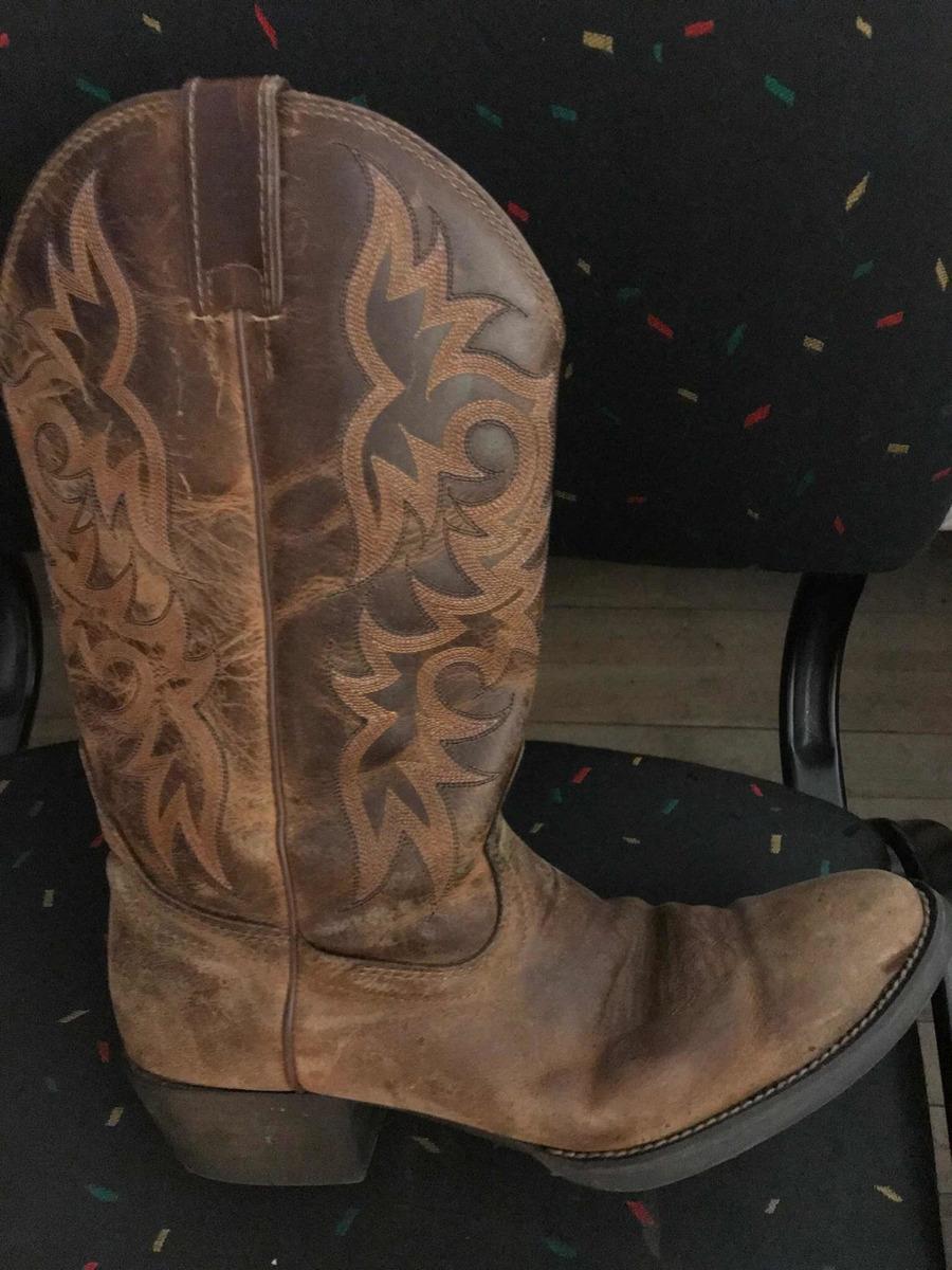 Botas Texanas Hombre Justin Como Nuevas $ 8.000,00