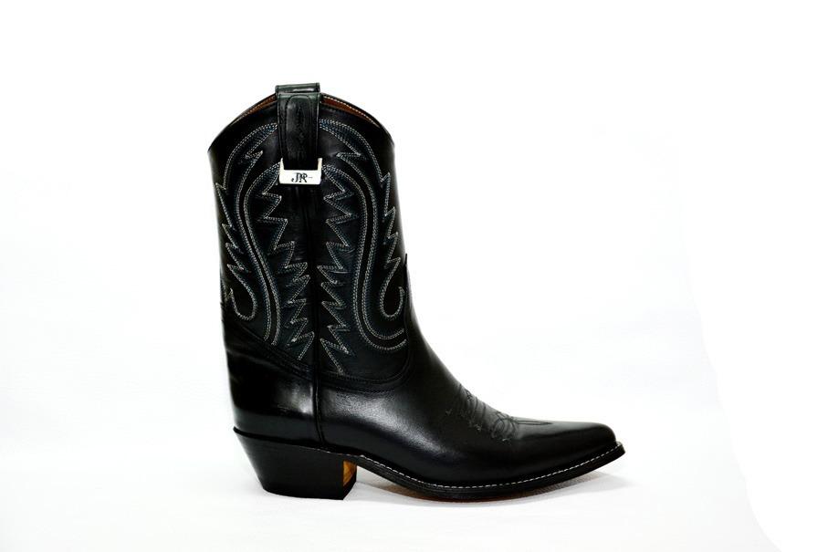 0dfc1ff6a Botas Texanas - Jr Boots   Shoes - Art. 6041 Negro -   9.900