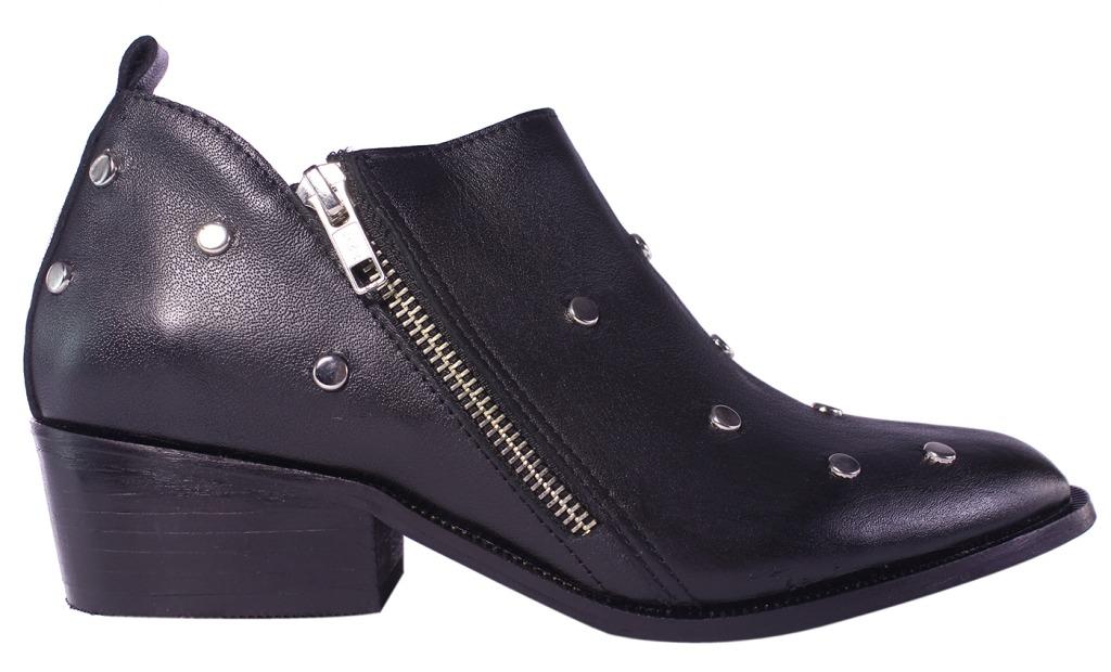 d34e14ef4f botas texanas mujer 100% cuero tachas botitas tops zapatos. Cargando zoom.