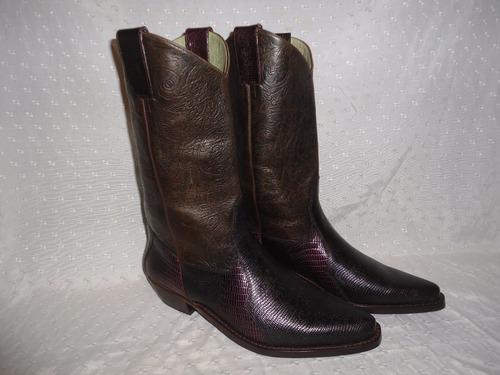 botas texanas n° 42