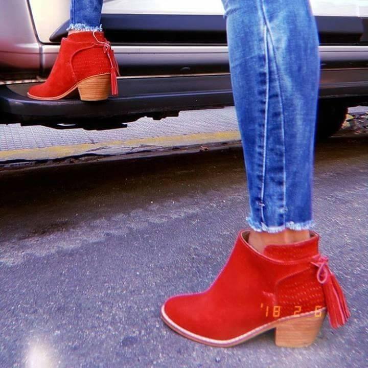be17f9cd2f Zapatos Botas Texanas Gamuza Con Tachas Moda 2018 Kanzas -   2.057 ...