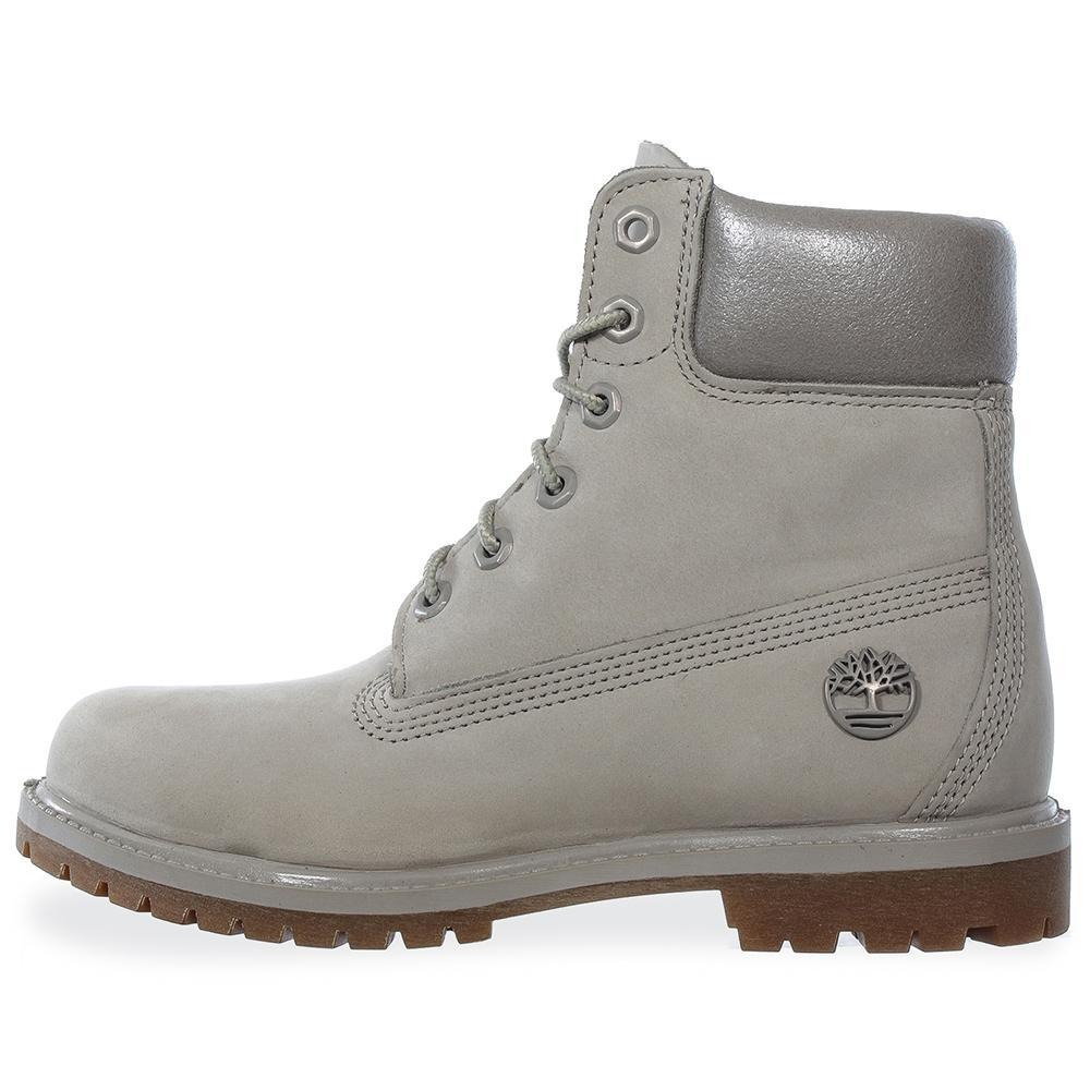 e81cf8e5d5a5c botas timberland 6 in premium - tb0a1hzb093 - gris - mujer. Cargando zoom.