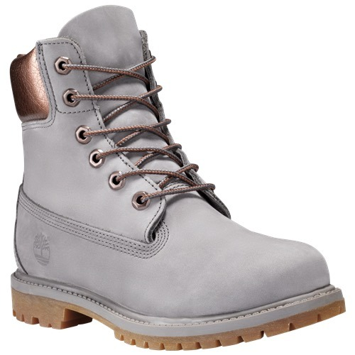 def07a0d8abdf Botas Timberland 6in Premium Mujer Gris A1bk7 Look Trendy ...