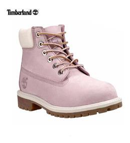 zapatos timberland mujer rosas