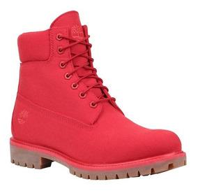 Botas Timberland Hombre Rojo Icon 6 Premium Tb0a1ua5601