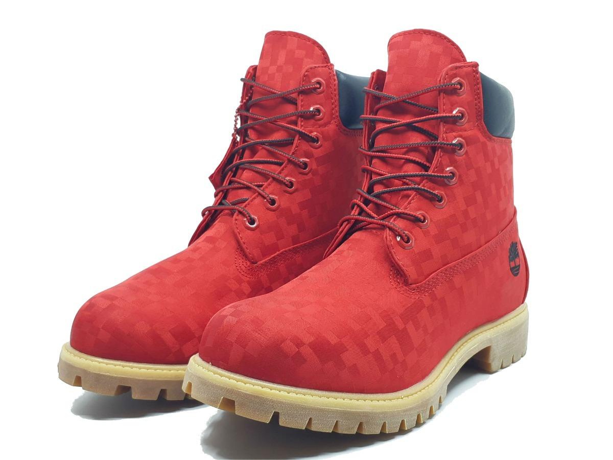 65c5bf2c39ae8 botas timberland nuevas originales de hombre a1540 rojas. Cargando zoom.