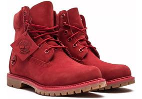 Botas Timberland Eurohicker Jacquard Celaya Zapatos Rojo