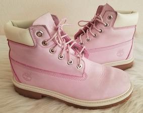buy popular 9464d 50b3e Botas Timberland Rosa Mujer