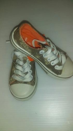 botas tipo converse para niño