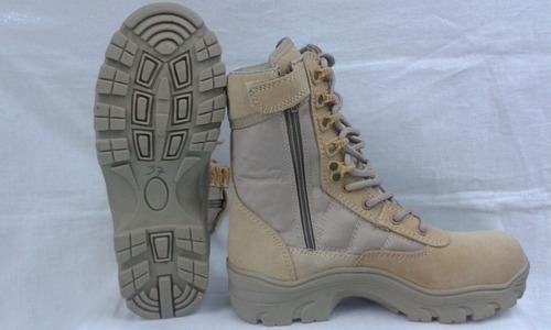 botas tipo swat con puntera de seguridad en acero o en fibra