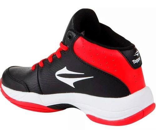 botas topper basketball basket deportivo niño niña mvdsport