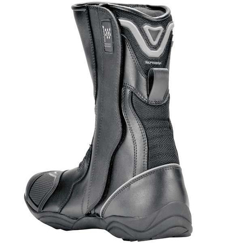 botas tourmaster solution air impermeables, negro 9w