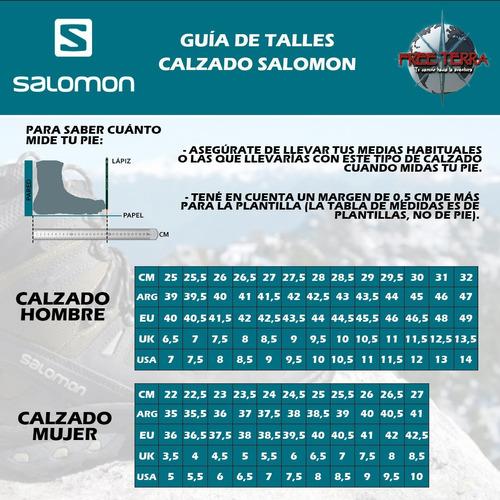 botas trekking salomon gore-tex wp impermeables hombre lyngenº