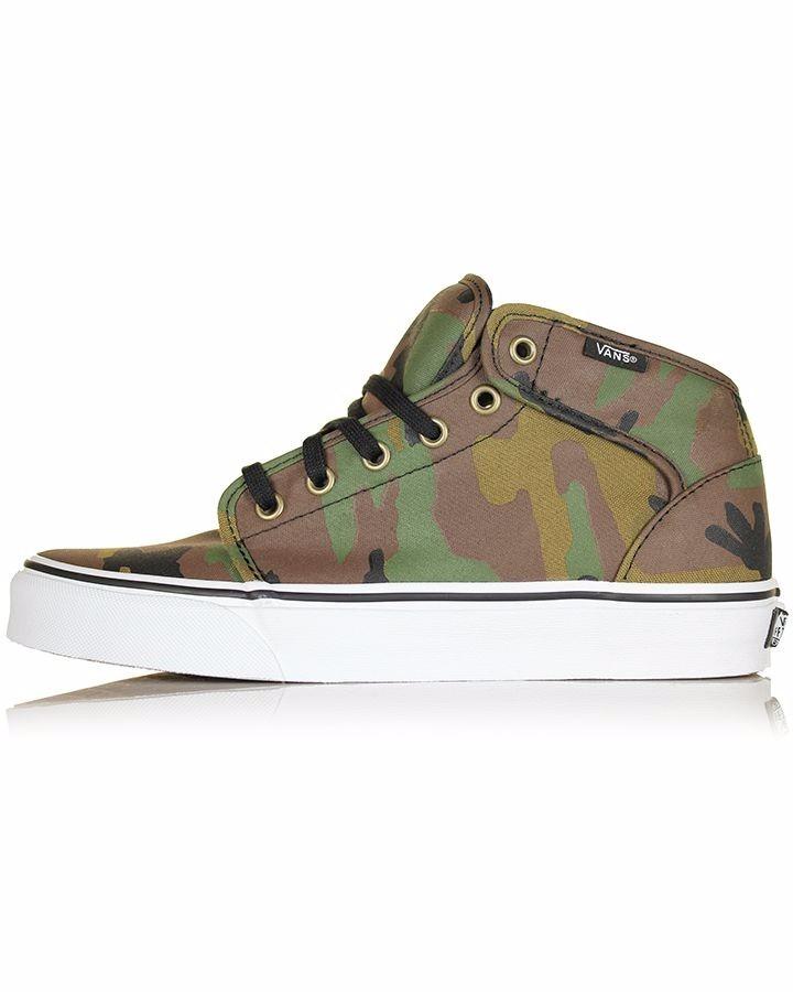 vans militar zapatos