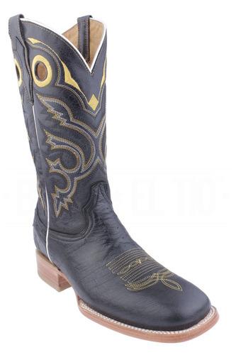 botas vaqueras caballero rodeo piel original panza avestruz