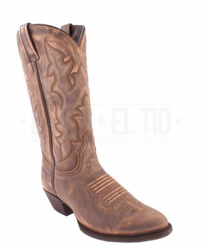 botas vaqueras dama mujer piel vintage horma oval caborca