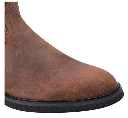 botas vaqueras jc mc coy cafes para caballero piel 950 id69