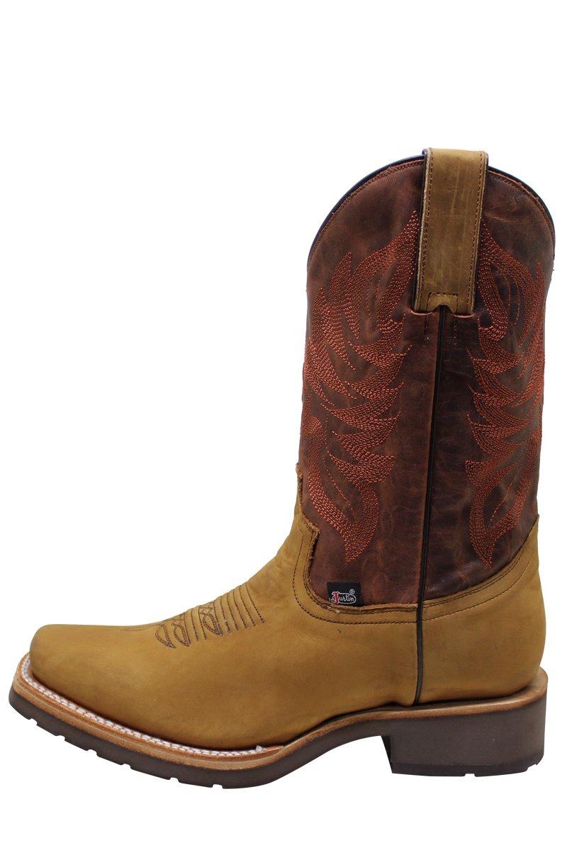 bde2d1f7b6 botas vaqueras justin boots piel tabaco cuadra caborca río. Cargando zoom.