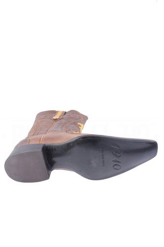 botas vaqueras original avestruz con piel versache general