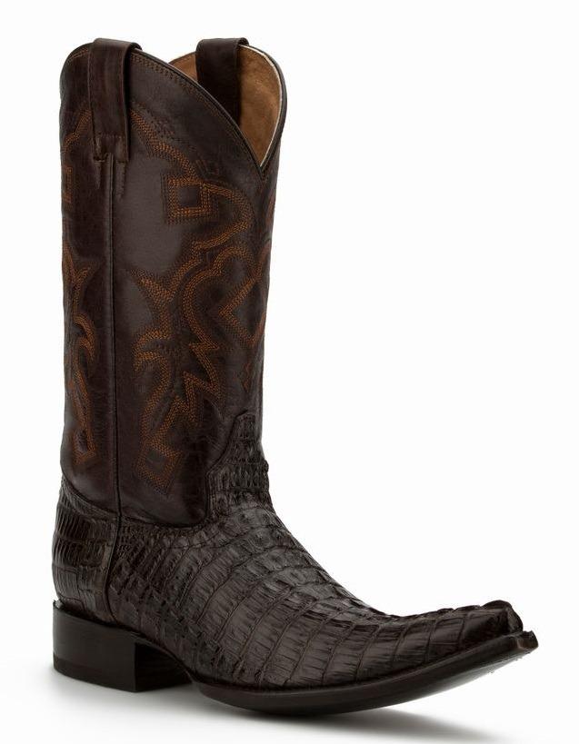f2b54645735 botas vaqueras piel grabado cocodrilo hombre cafe originales. Cargando zoom.
