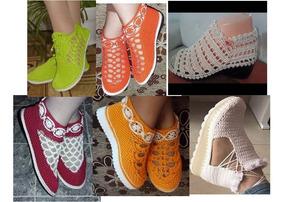 Mano Libre En A Zapatos Dama Zulia Mercado Tejidos Para yvnNwOPm80