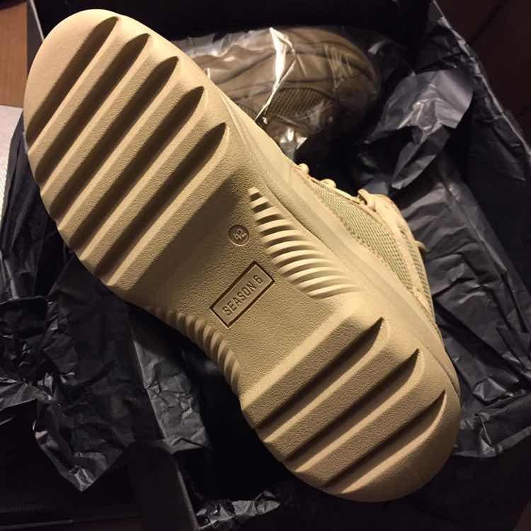 Rat Yeezy 6 Originales5 800 00 Season Boots Taupe Botas Desert pGSMzVqU