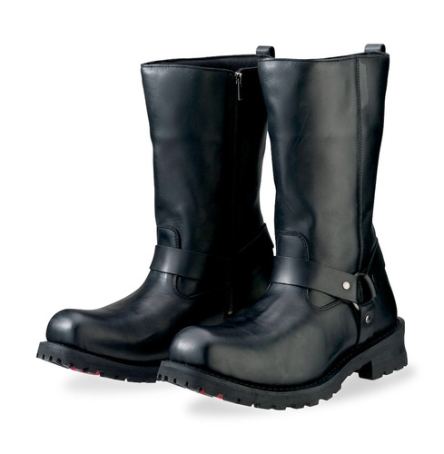 botas z1r riot para hombre de cuero impermeable negras 13