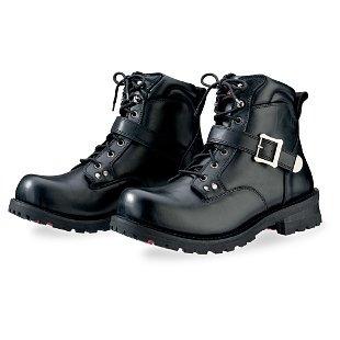 botas z1r trekker para hombre cuero negro 12