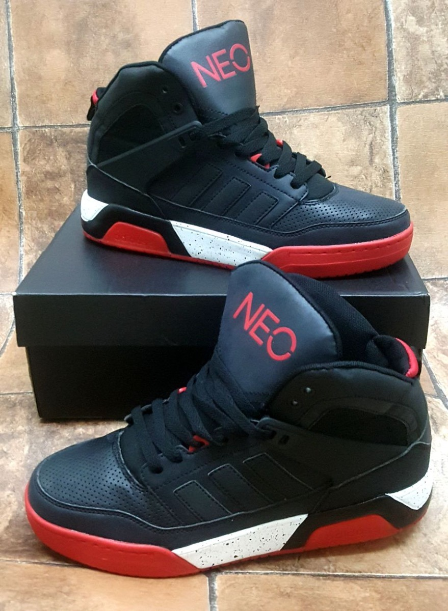 Botas Zapatillas adidas Neo Negra Roja Hombre Env Gr