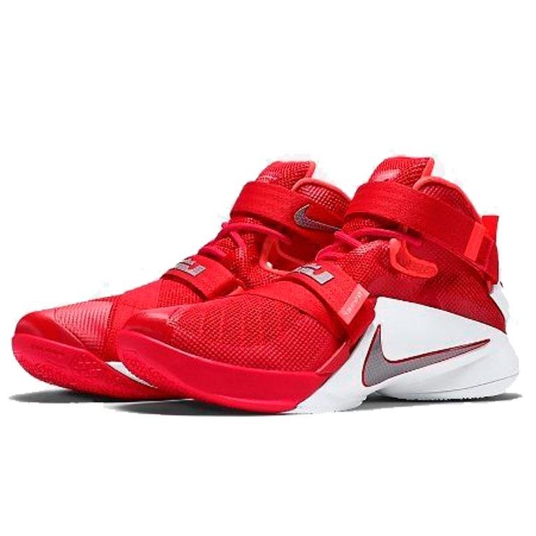 Botas Zapatillas Nike Lebron Soldier 9 Roja Hombre Env Gr ... d831ff612