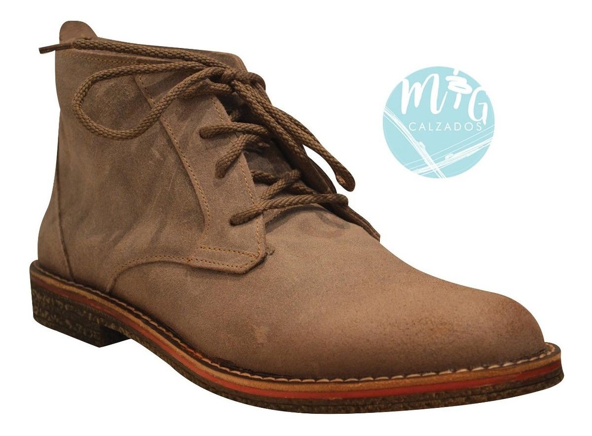 35083610 botas zapatos borceguís hombre gamuzón genuino art 203 nueva. Cargando zoom.