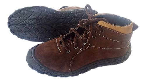 botas zapatos niños gigetto marron 10009