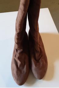 Botas Zara Mujer Botas y Botinetas de Mujer Marrón en