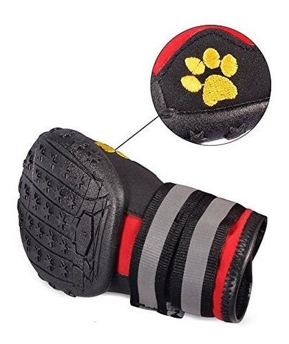 botas,zona fantástica zapatos del perro impermeable anti..