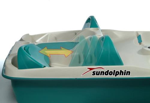 bote a pedales 5 personas sundolphin sunslider
