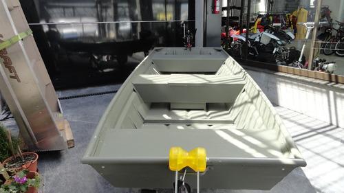 bote alumiino americano polar kraft casco chata pesca nautic
