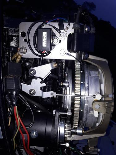 bote aluminio / lancha metalglass. motor nissan 30 hp/ trail