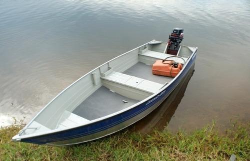 bote  aluminio metal glass aruak 400