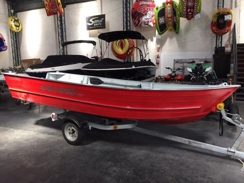 bote aluminio polimarine acquapro 420  nautica pesca caza