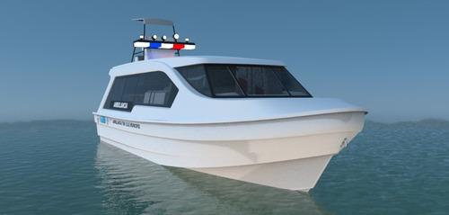 bote ambulancia- ambulancia maritima- medicalizada - basica