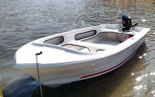 bote bahamas 375 con tohatsu 18 hp y trailer todo okm !