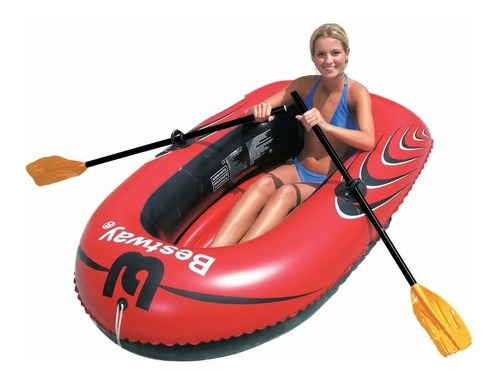 bote balsa inflable con remos hydro force bestway cuotas