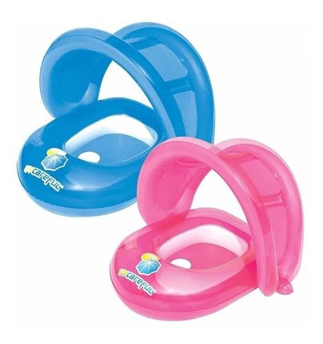 bote bebe filtro uv silla salvavida techo inflable pileta
