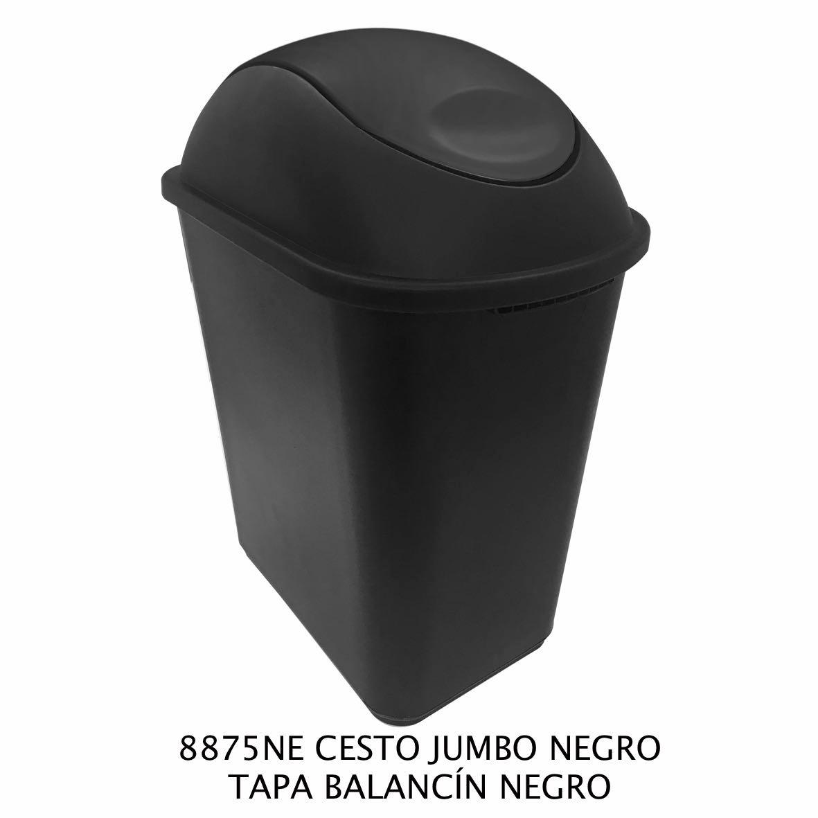 Bote cesto sablon 26 litros tapa de balancin en mercado libre - Balancin jardin ikea rouen ...
