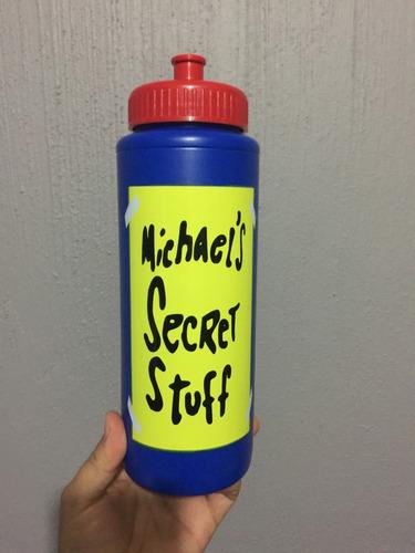 bote de agua space jam michael jordan secret stuff