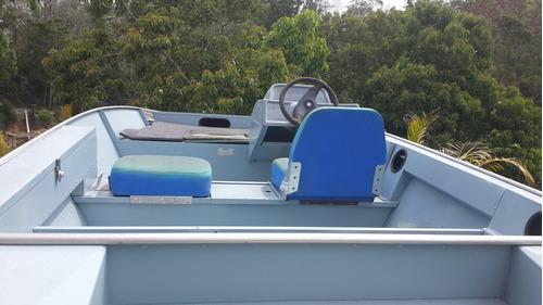 bote de aluminio big fishing 5014 console