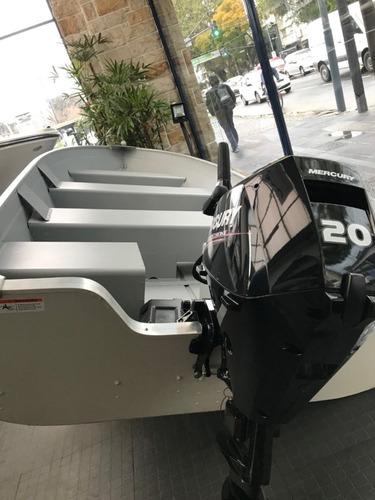 bote de aluminio importado lowe origen u.s.a.