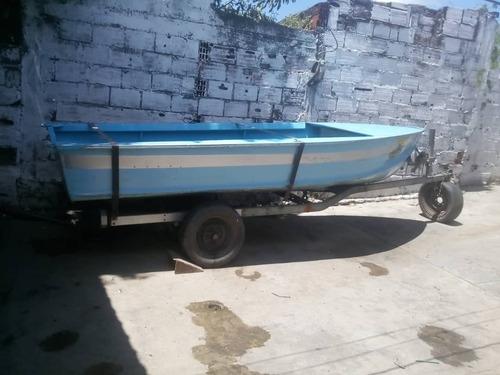 bote de aluminio marca lanven 14pies